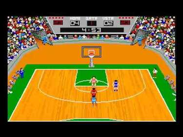 GBA Championship Basketball - Two-On-Two (1987)(Gamestar - Activision)