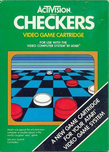 Checkers (1980) (Activision)