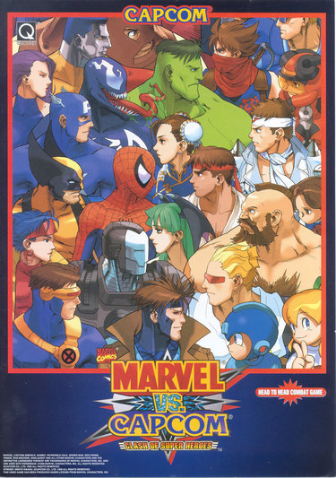 Marvel Vs Capcom - Clash Of Super Heroes (980123 USA)