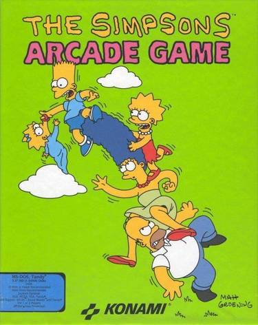 Simpsons Arcade Game, The (Side 2)