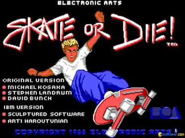 Skate Or Die! (Europe) (Side 1)