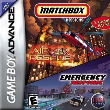 2 In 1 - Matchbox Missions - Emergency Response Air, Land & Sea Rescue