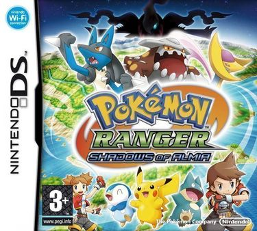 Pokemon Ranger - Shadows Of Almia