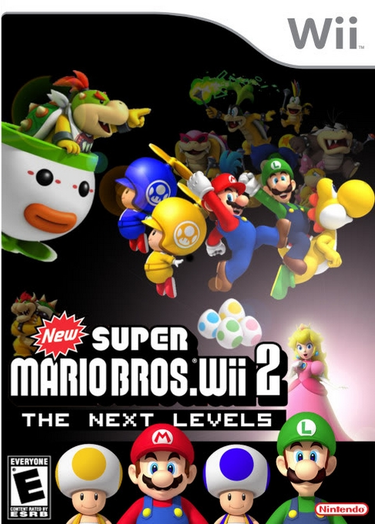 New Super Mario Bros Wii 2 The Next Levels Rom Nintendo Wii