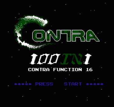 100 In 1 Contra Function 16 Rom Nes Download Emulator Games