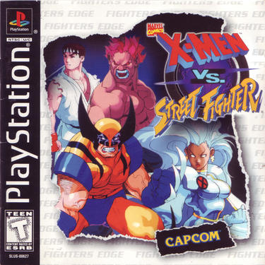 X Men Vs. Street Fighter [SLUS-00627]