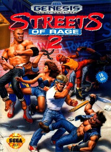 Bare Knuckle II - Shitou E No Requiem ~ Streets Of Rage II (Japan, Europe)