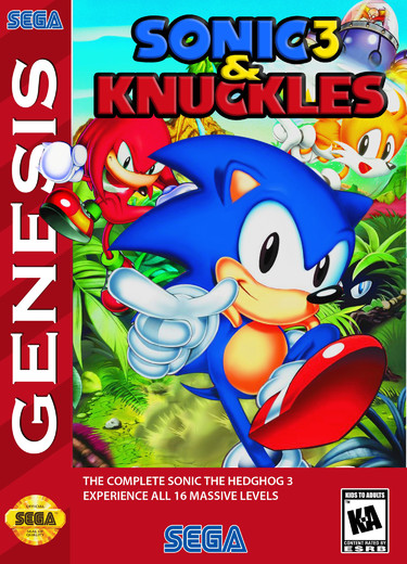 Sonic & Knuckles + Sonic The Hedgehog 3 (Europe)