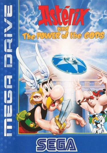 Asterix And The Power Of The Gods (8) (Eng-Ger-Fre-Spa)