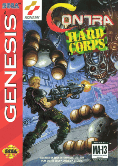 Contra - Hard Corps