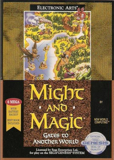 Might And Magic 2 - Gates To Another World (REV 01)