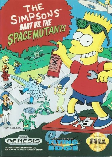 Simpsons, The - Bart Vs The Space Mutants (JUE) (REV 00)