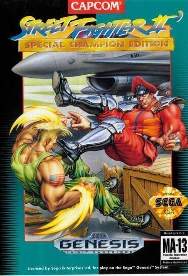Street Fighter 2 Special Champion Edition Rom Sega Download