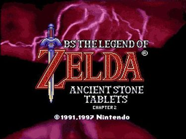 BS Legend Of Zelda 4 - Kodai No Sekiban