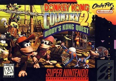 Donkey Kong Country 2-Diddys Kong Quest 1.1