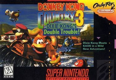 Donkey Kong Country 3-Dixie K Double Trouble