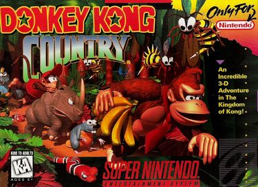 Donkey Kong Country (V1.2) ROM - SNES Download - Emulator Games