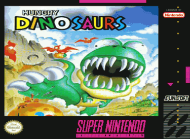 Hungry Dinosaurs ROM - SNES Download - Emulator Games