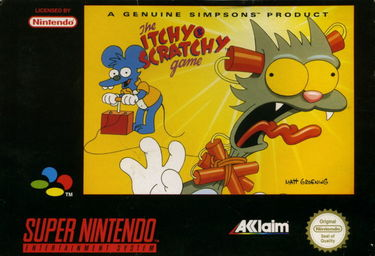 Simpsons, The - Itchy & Scratchy